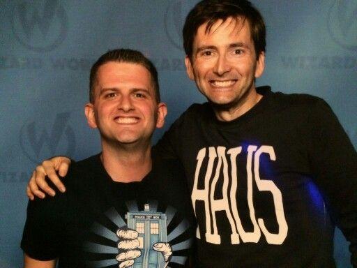 David at the Comic Con Manhattan