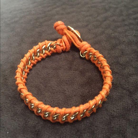 Orange bracelet Cute! As listed Jewelry Bracelets
