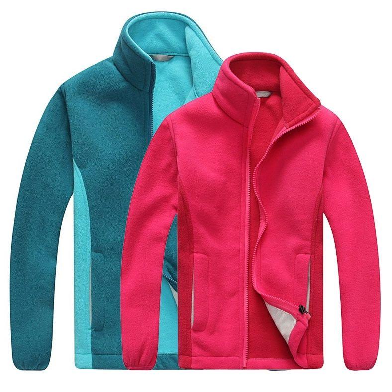 aa2f59622 Kid Outdoor fleece jacket keep warm winter hiking children Polar ...