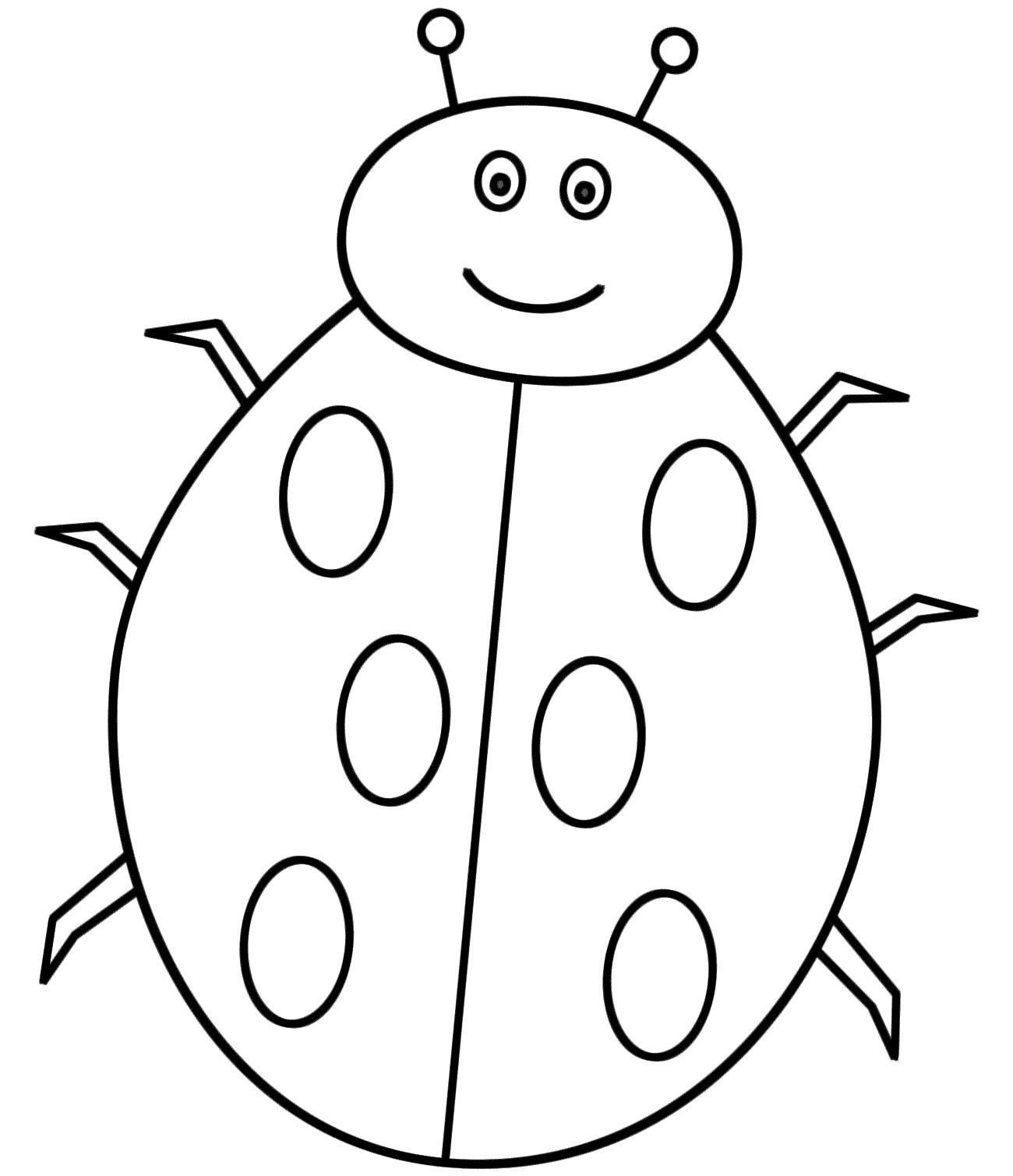 16 Colouring Pictures For Toddlers Ladybug Coloring Page Bug Coloring Pages Free Printable Coloring Pages [ 1509 x 1300 Pixel ]