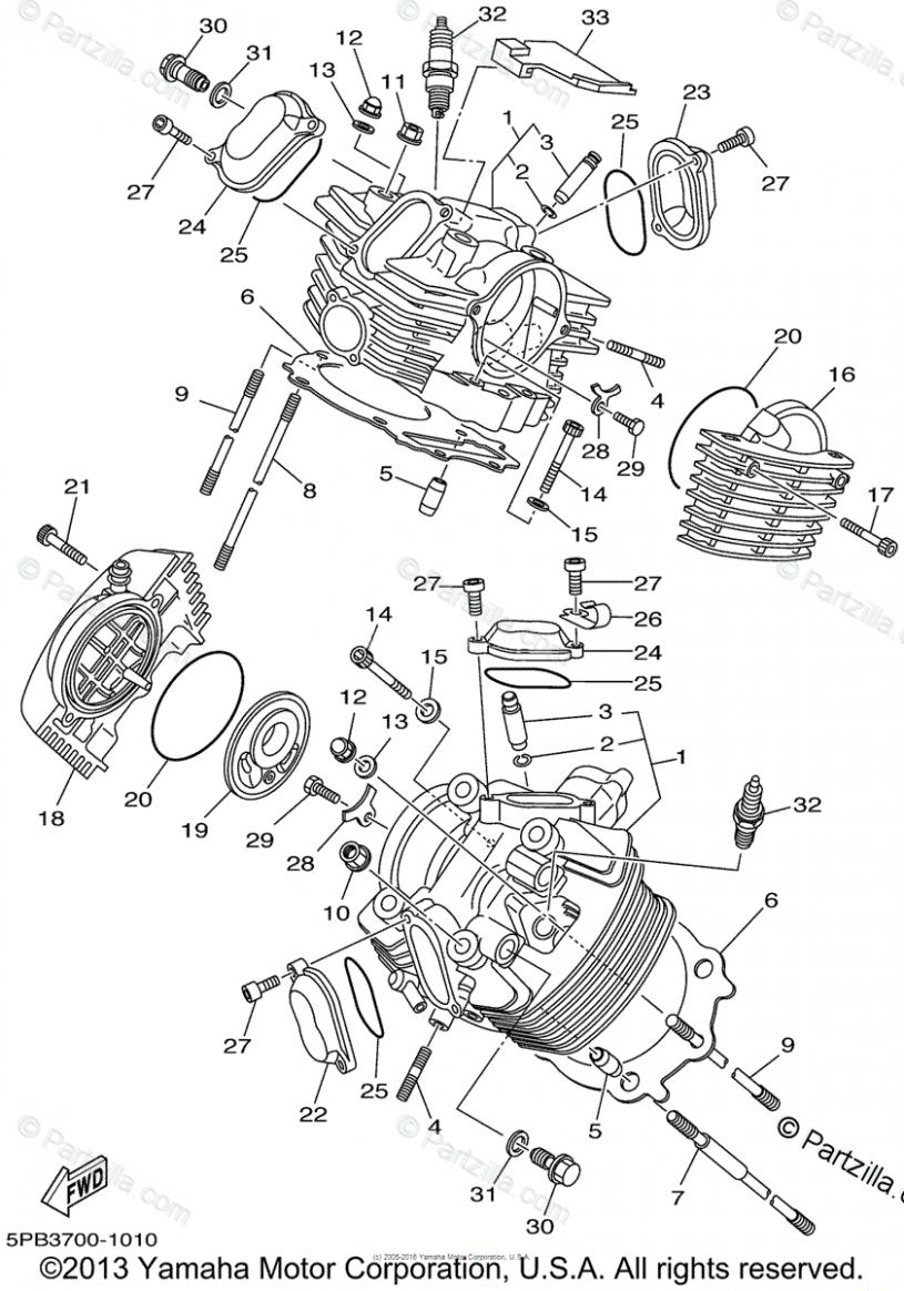 Yamaha Motorcycle Engine Diagram