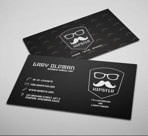 Freebie hipster business card psd template dark version logo freebie hipster business card psd template dark version accmission Choice Image