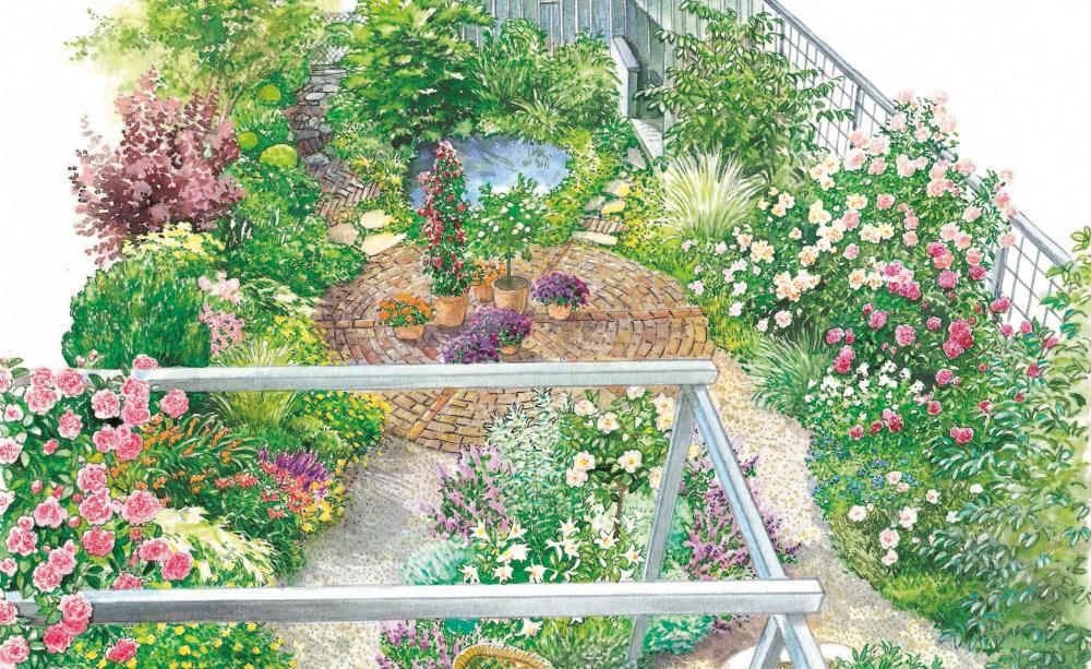 kleiner garten im neuen gewand   garten, Garten ideen gestaltung