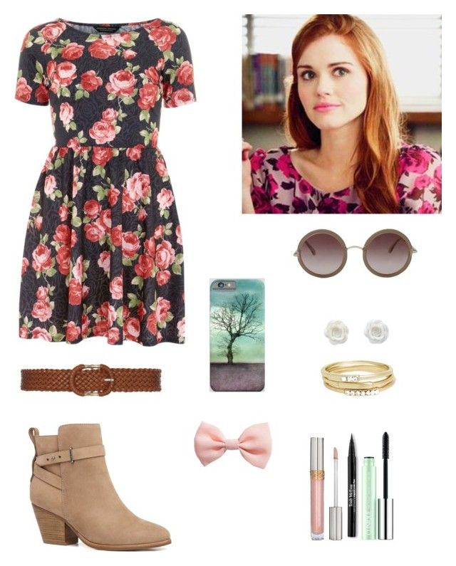 """""""As Lydia Martin"""" by z-aline ❤ liked on Polyvore featuring Witchery, The Row, H&M, Dorothy Perkins, Jules Smith, Clinique and Trish McEvoy"""