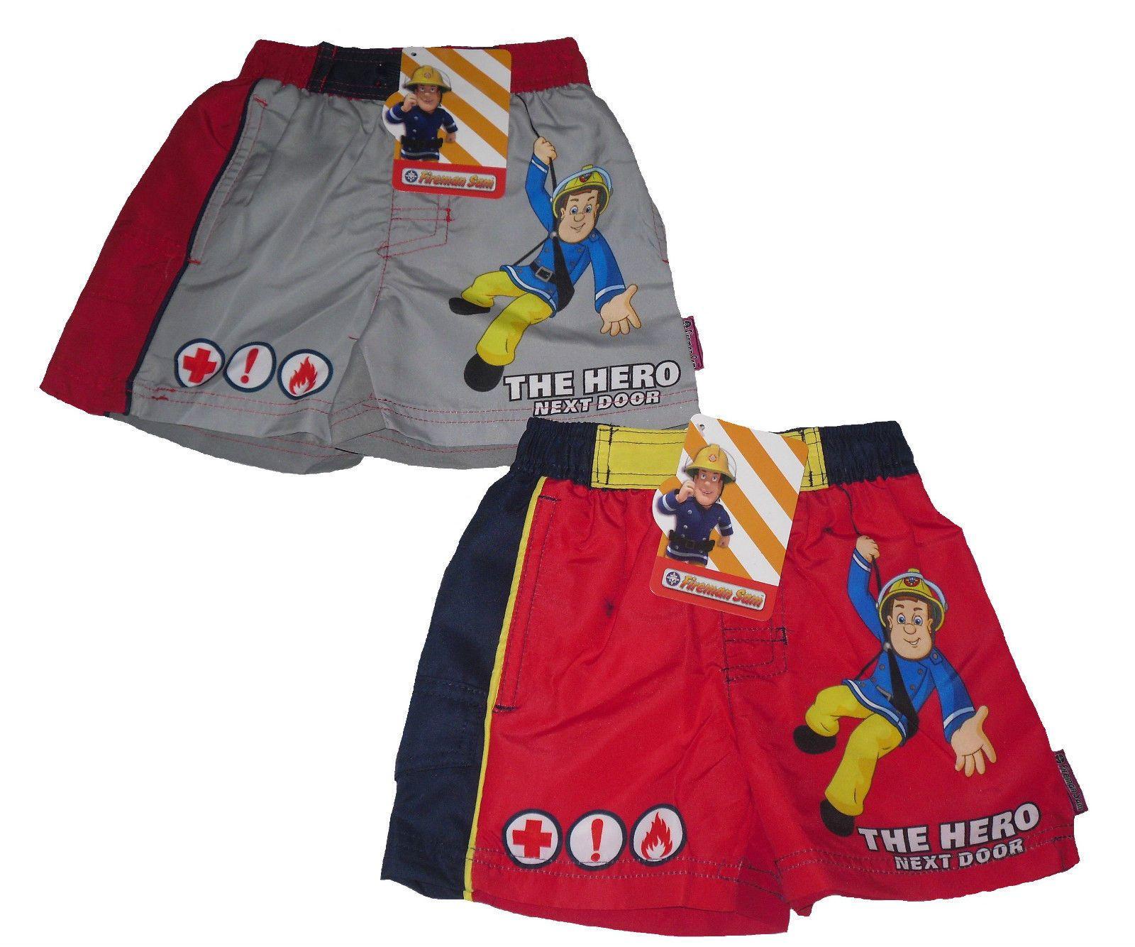 Boys swim shorts swimming shorts fireman sam years old