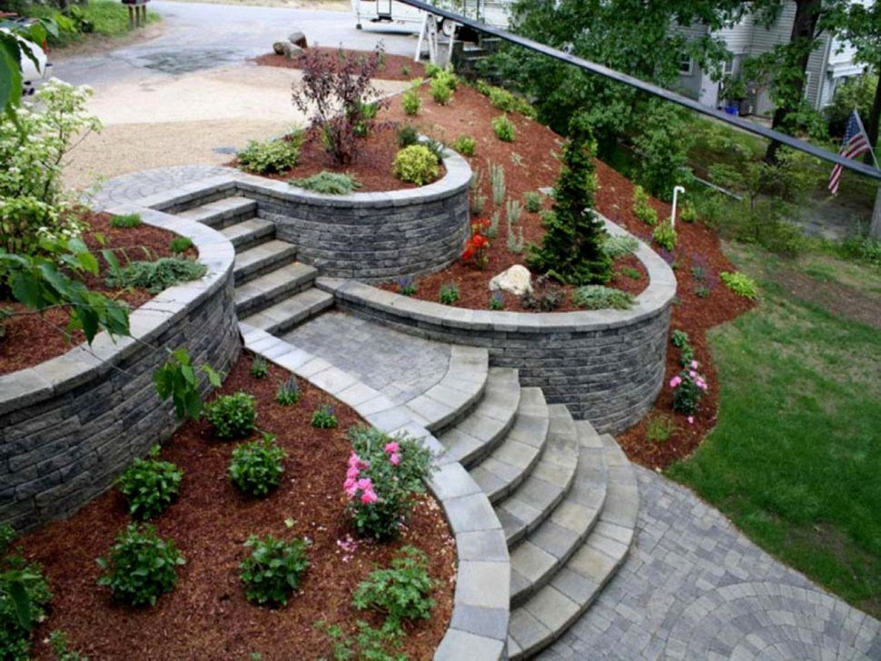 interior:Sloped Backyard Ideas Slope Landscaping To Build ... on Steep Sloped Backyard Ideas id=49030