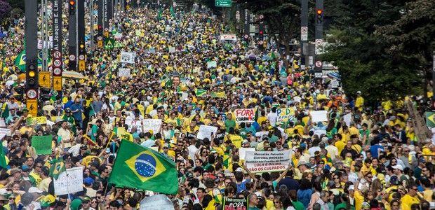 Canadauence TV: Cobertura dos protestos contra Dilma em todo Brasi...