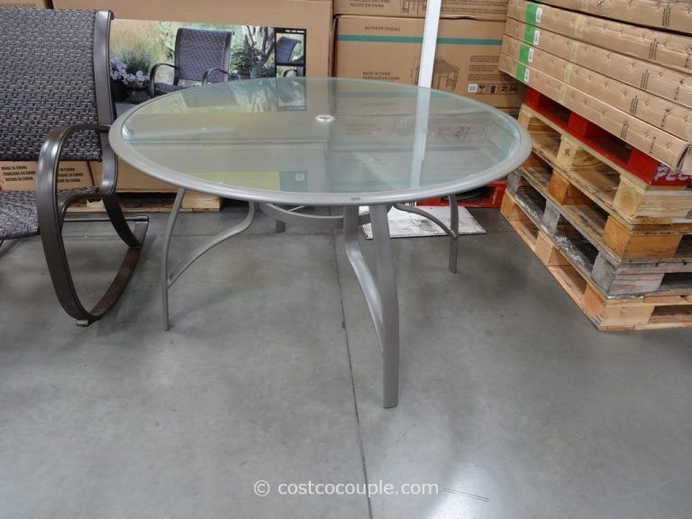 costco patio furniture table