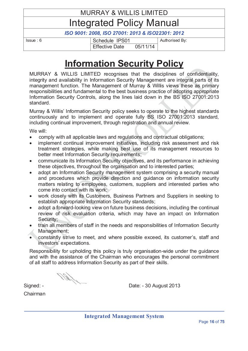 Information Security Policies For Mobile Device Acceptable Use Policy Template 10 Professional T Policy Template Letter Template Word Professional Templates