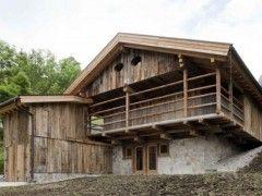 Alpine Barn Restoration, Selva di Cadore, Italy