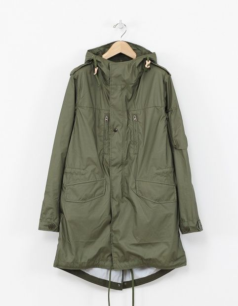 Nanamica - Nylon Fishtail Parka | Jackets | Pinterest