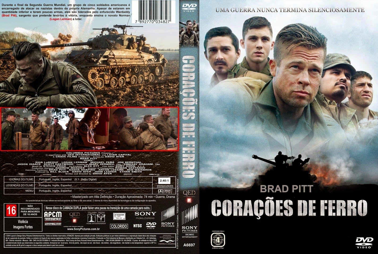 Coracoes De Ferro 2015 Filme Coracao De Ferro Filmes De Acao Filmes