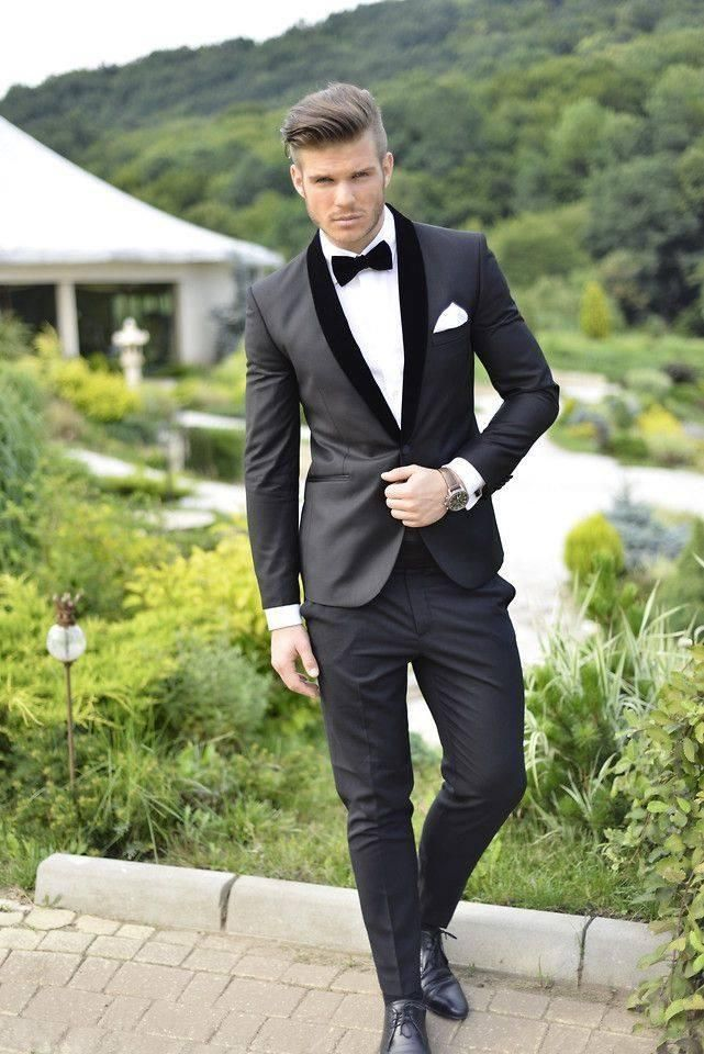 Groom tuxedos tailor suits tux cheap bridegroom morning mens ...