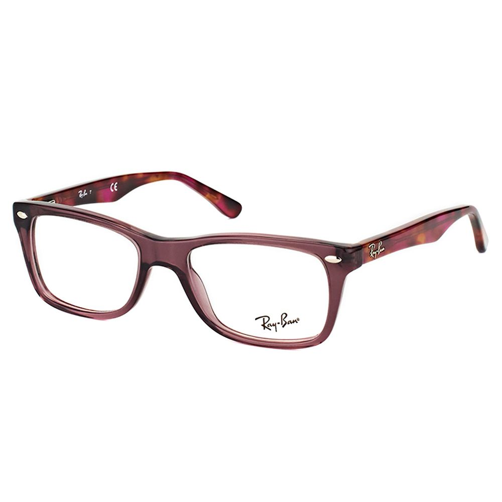 3b9f273b24 Ray-Ban RX 5228 5628 Opal 50-millimeter Rectangle Eyeglasses ...