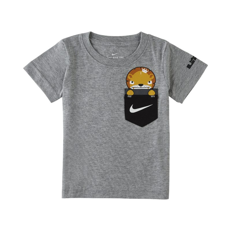 sports shoes eb1aa 25dff LeBron Little Big Cats Toddler T-Shirt - Grey | Products | Nike ...
