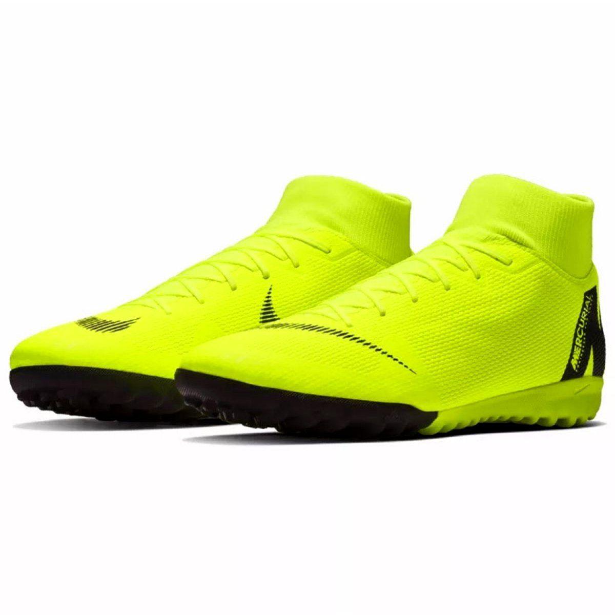 Buty Pilkarskie Nike Mercurial Superflyx 6 Academy Tf M Ah7370 701 Zolte Wielokolorowe Astro Turf Trainers Football Boots Astro Football Boots