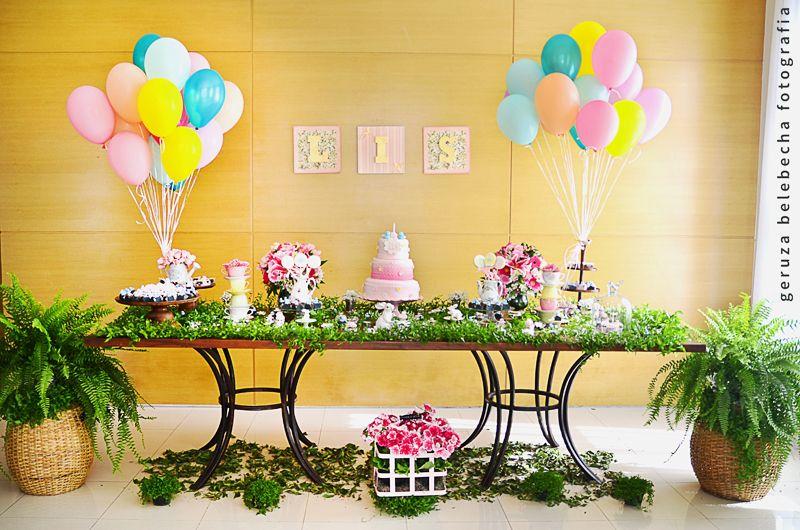 decora??o de festa tema jardim - Pesquisa Google Ideias ...