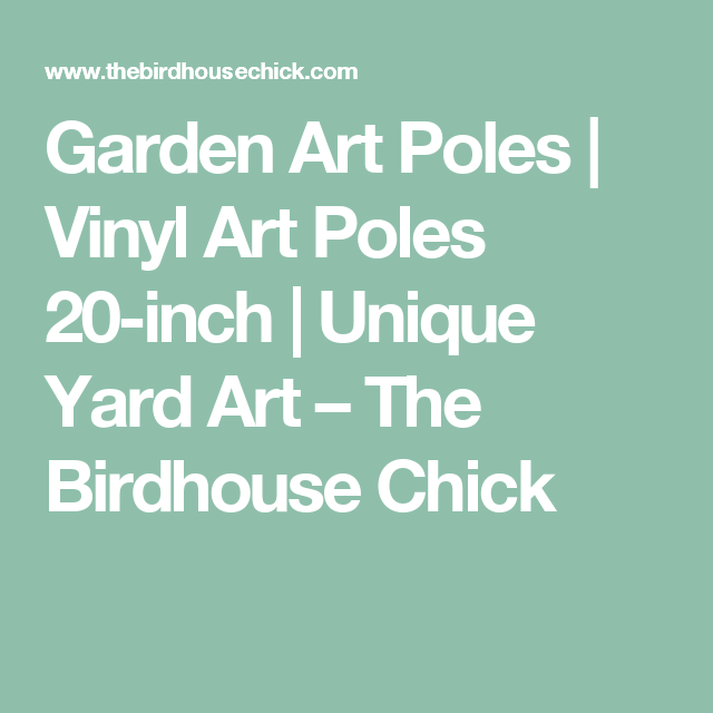 Vinyl Art Poles 20\