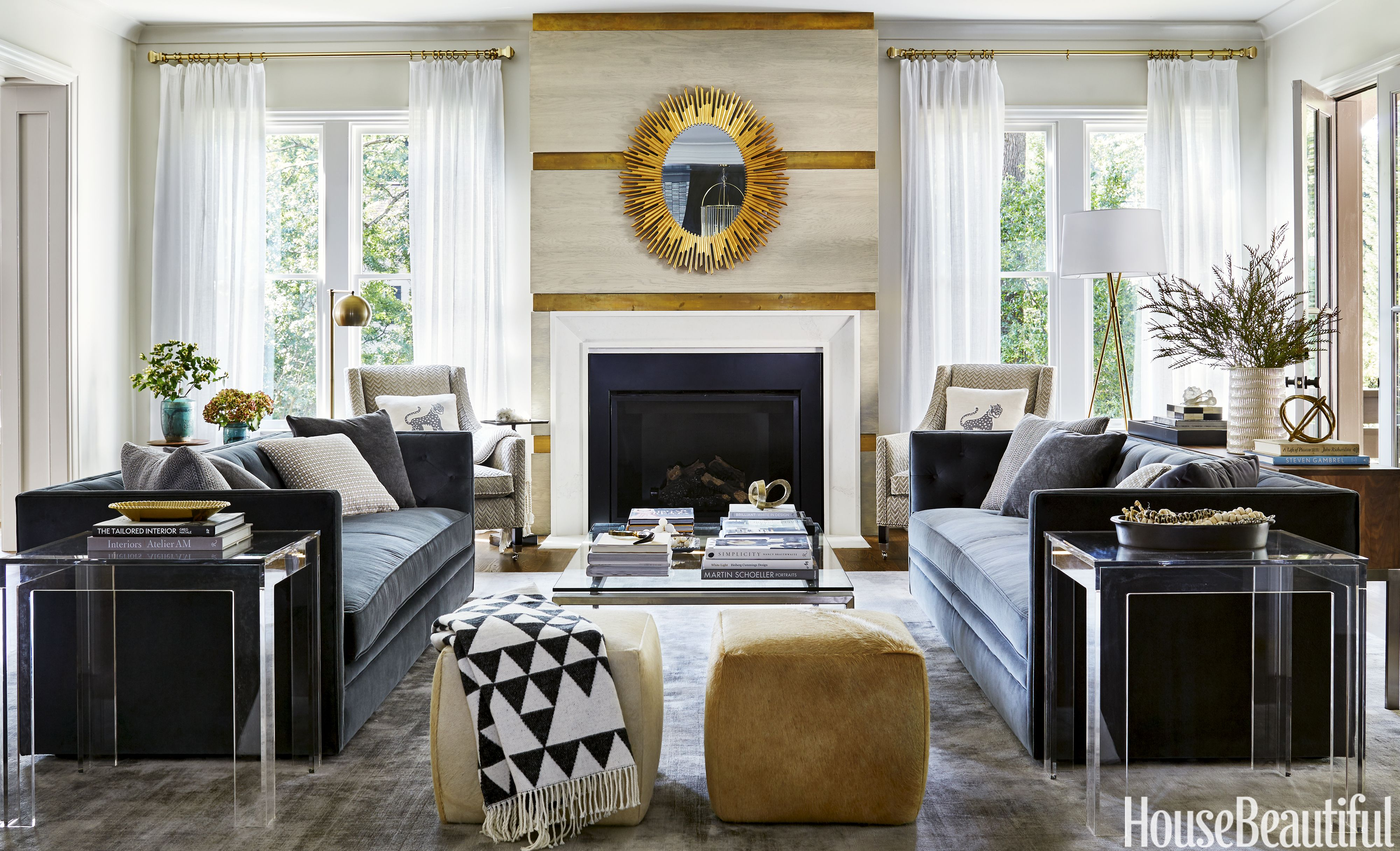 These 50 Designer Living Rooms Are Absolute Goals Family Room Design Family Room Home Decor