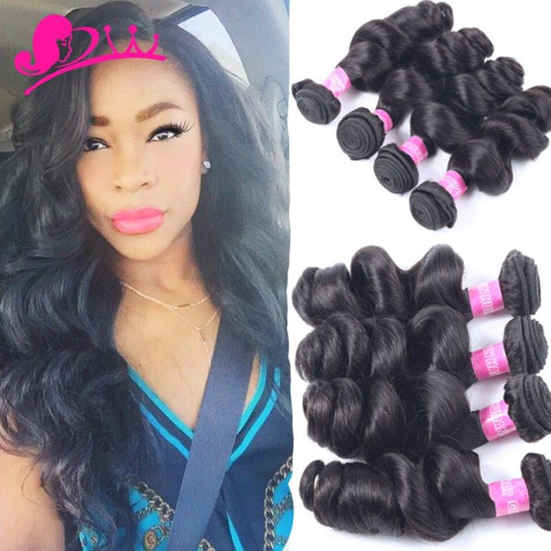 Find More Hair Weaves Information about 7A Unprocessed Virgin Hair Brazilian Human Hair Loose Deep Wave 4 Bundles Loose Wave Virgin Hair Rosa Hair Products Wet And Wavy,High Quality guangzhou handbag,China guangzhou hair Suppliers, Cheap guangzhou jewelry from Berry Hair on Aliexpress.com