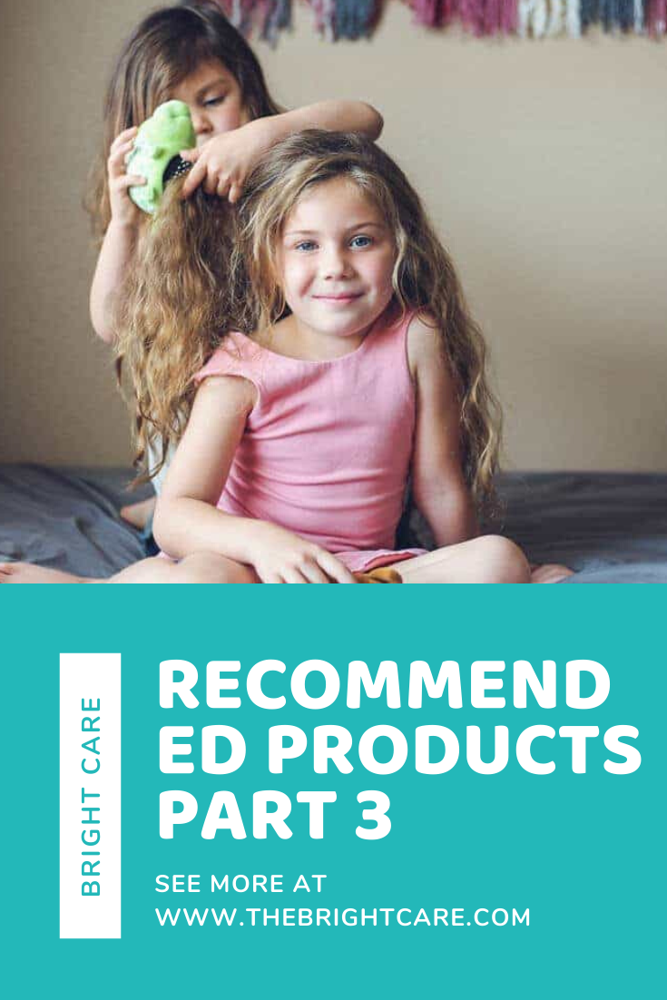 Products Part 3 (TANGLE PETS) Kids hair