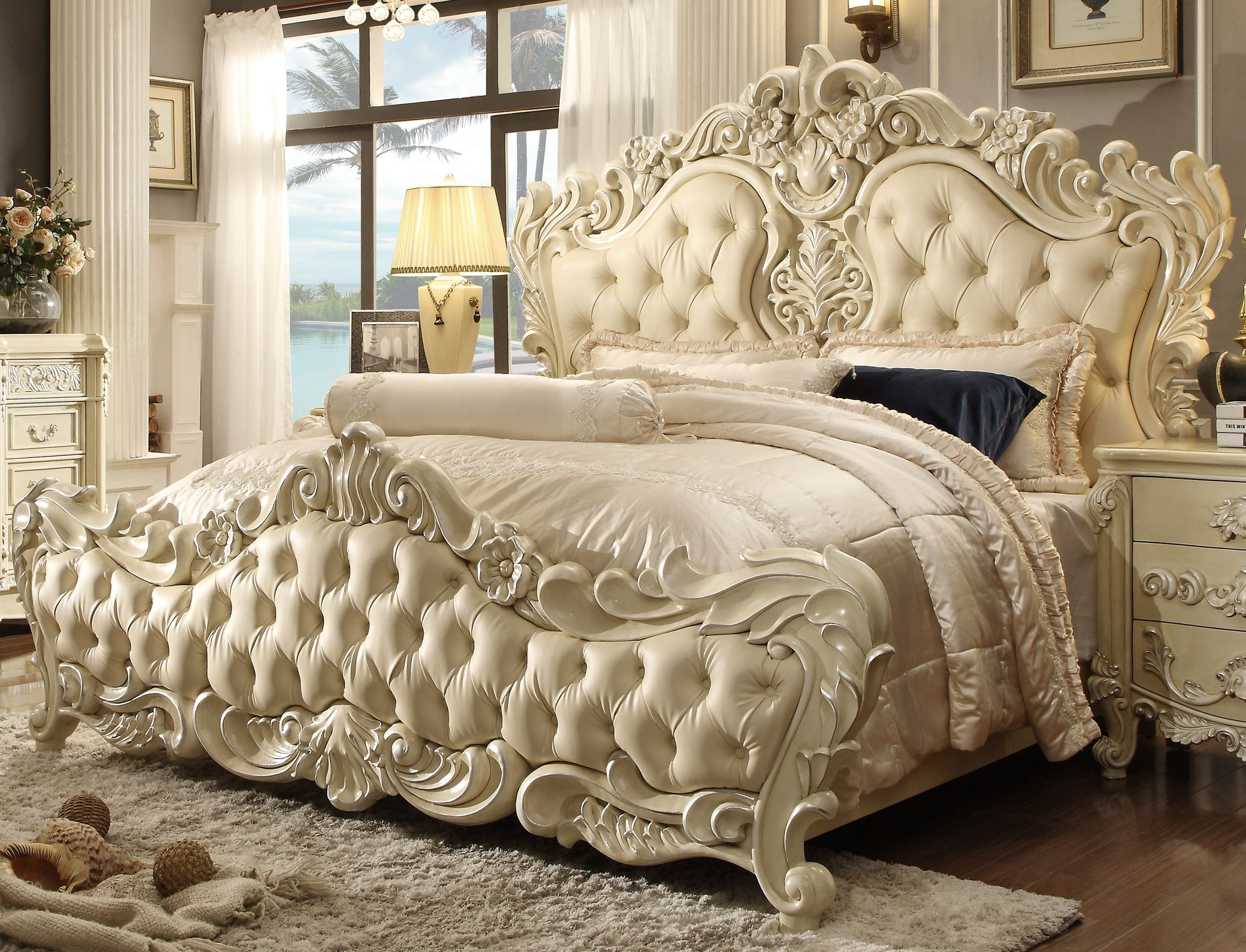 Hd 5800 Homey Design Imperial Palace Bed With Images King