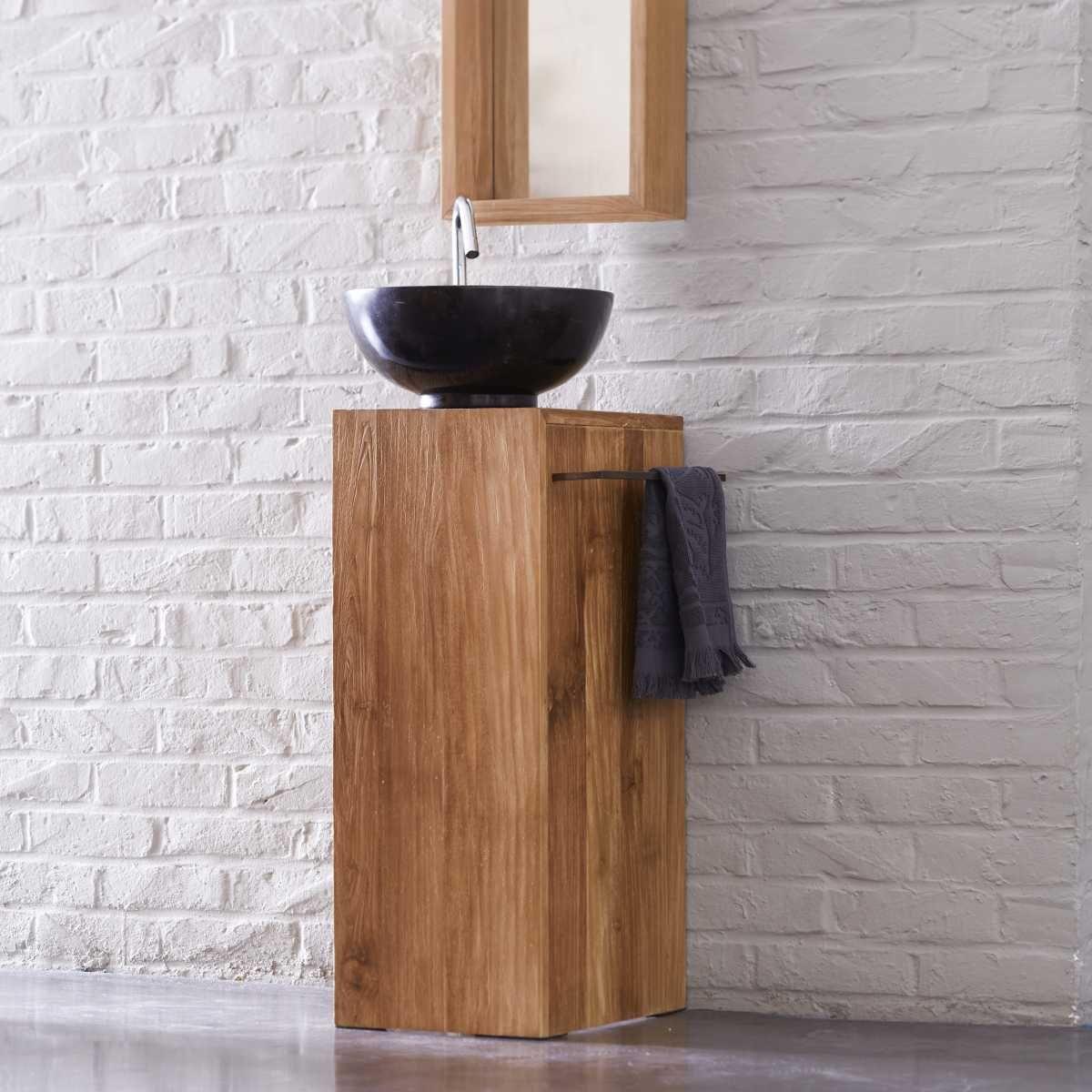 waschtisch aus teak 30 stelle rechts | inneneinrichtung, Badezimmer ideen