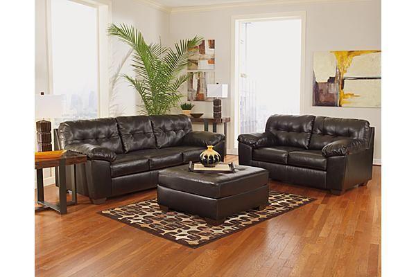 Best The Alliston Durablend® Ottoman From Ashley Furniture 400 x 300