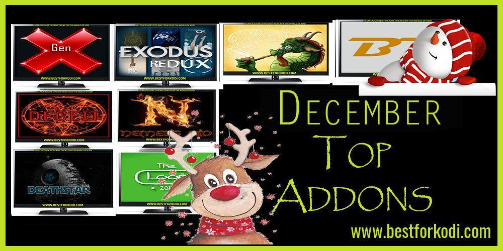 Best Addons For Kodi December 2019 Best Kodi Addons for December 2018   100% Working   Best for Kodi