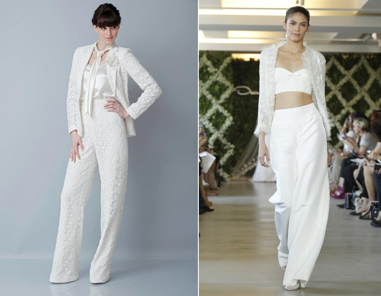 2017 Trends Bridal Pants Suit Original
