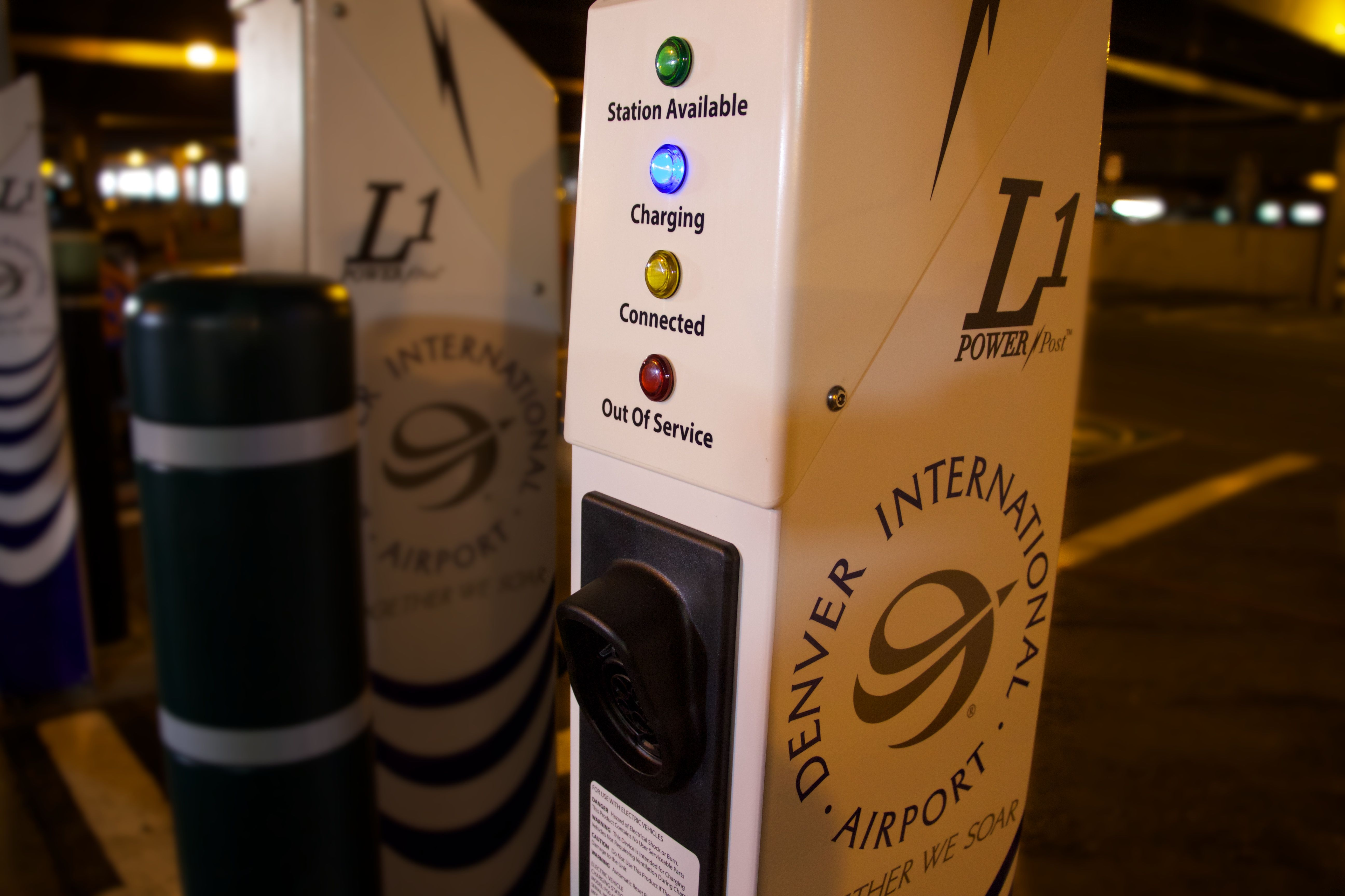 DIA now has 10 electric vehicle charging stations