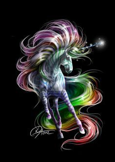 Wallpaper By Artist Unknown With Images Unicorn Painting