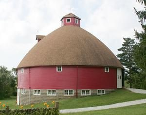 Round Barn Kirksville Missouri Barn Rustic Barn Red Barns
