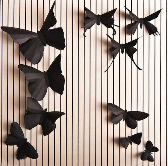 Cắt tạo những cánh bướm sáng tạo