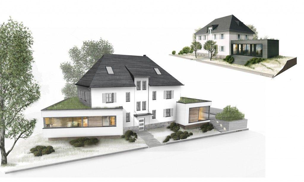 Entwurf Wohnhaus Betz Innenarchitektur Leipzig