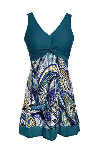 3e6fc742a7 NoNoCat One Piece Shaping body Floral Swimwear Plus Size Bathing suit for  Women