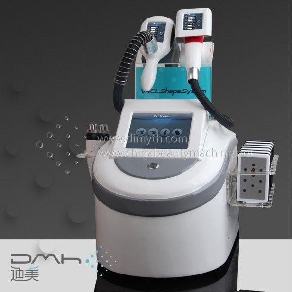 DM-708T vacuum roller cryo RF lipolaser