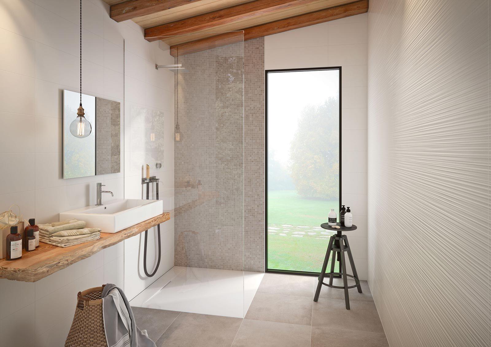 Fliesen Für Das Bad: Gestaltungsideen Mit Keramik Und Feinsteinzeug    Marazzi 7394