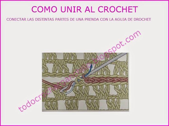 Coser con aguja de ganchillo, conectar partes de tejido | Tejidos ...
