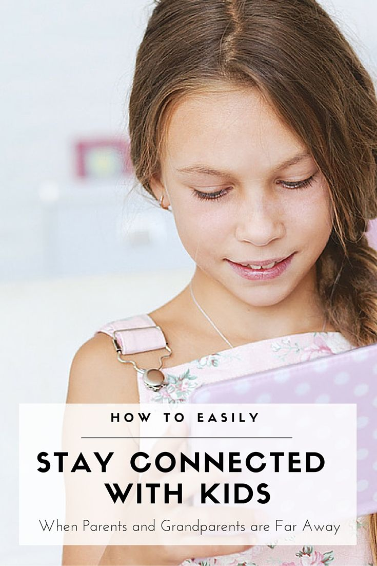Watch Staying Connected with the Kids from Long Distance video