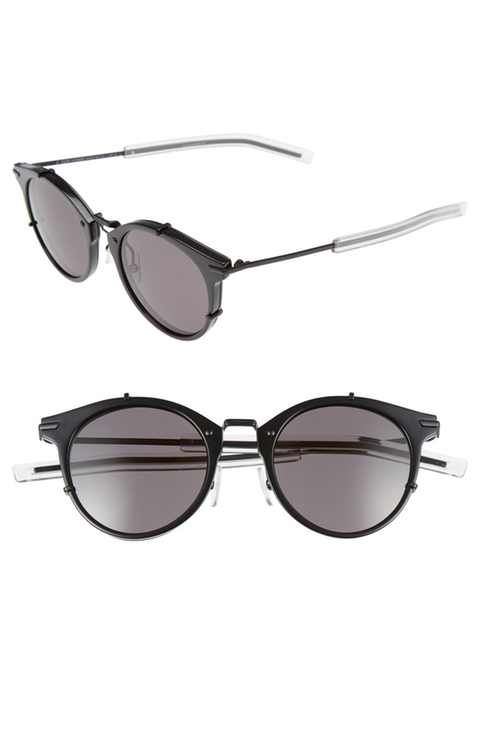 461b17d4f0738 Dior Homme 48mm Round Sunglasses - Sale! Up to 75% OFF! Shop at ...