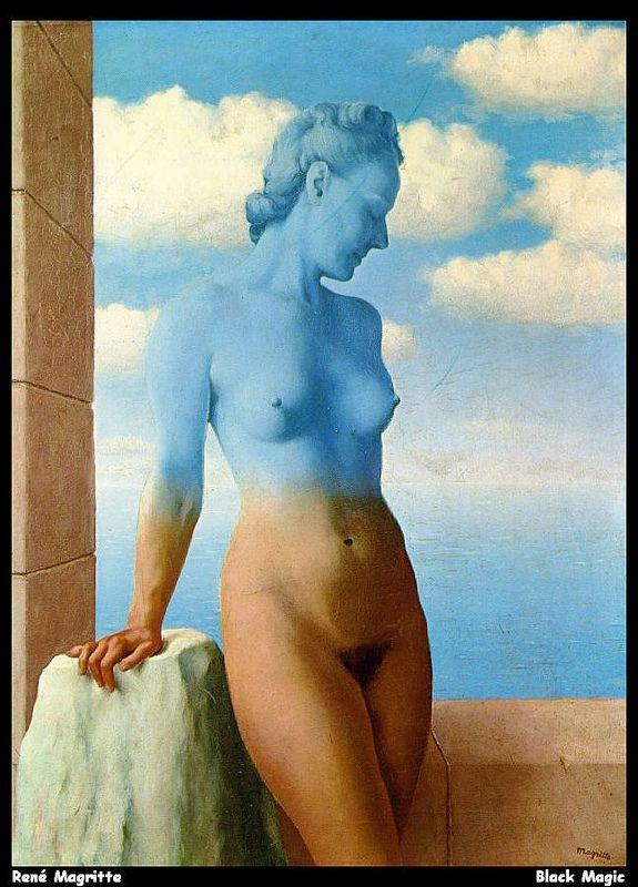 Rene Magritte - MAGIA NEGRA - 1945