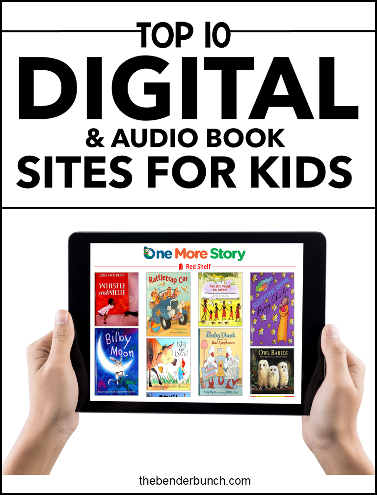 The Top 10 Digital & Audio Book Sites for Kids (With