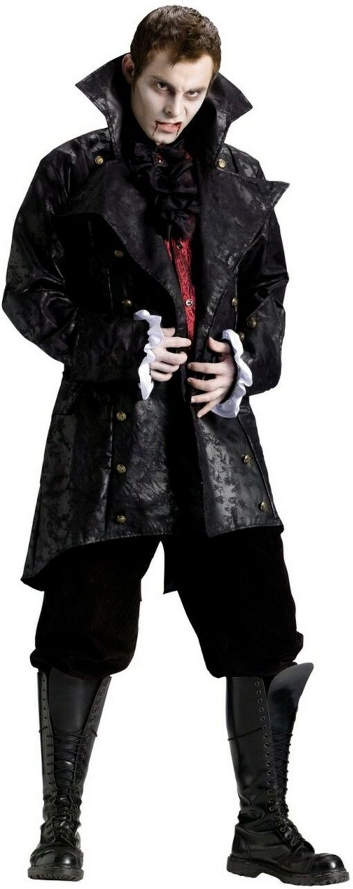 elegant vampire adult halloween costume for men