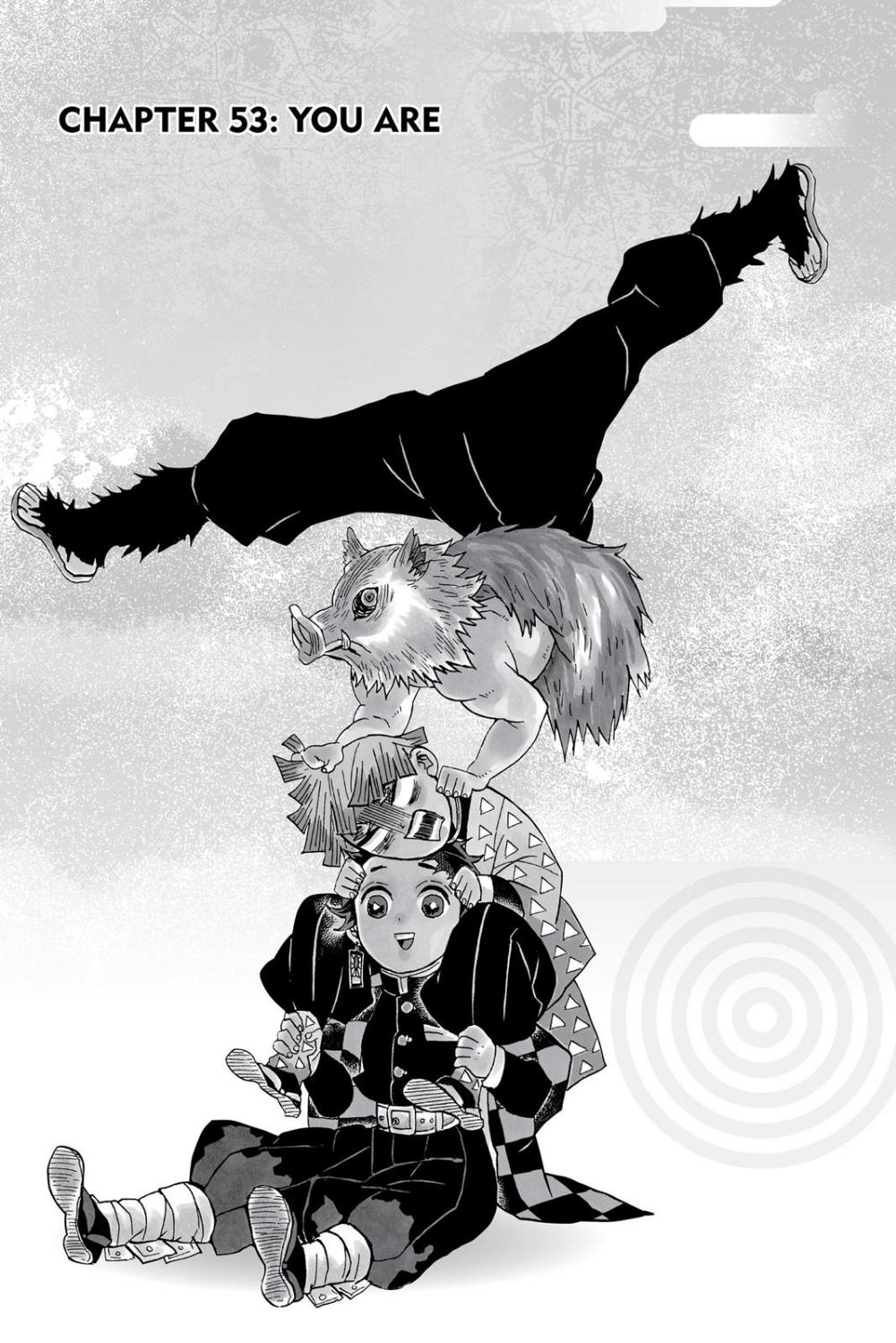 Demon Slayer Kimetsu No Yaiba Chapter 53 Slayer Slayer Anime Anime