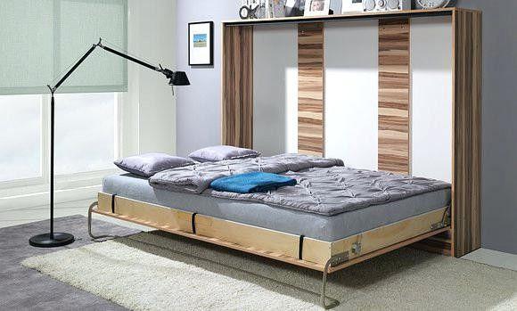Doppelbett Englisch New Doppelbett Im Schrank Moonlightsback In 2020 Bettschrank Platzsparende Betten Schlafzimmer Bett