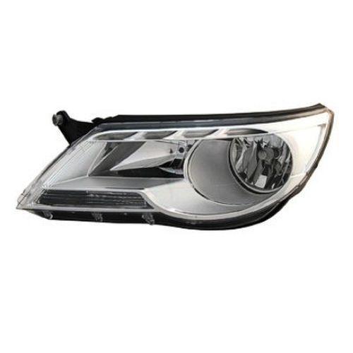 2011 Volkswagen Tiguan Right Passenger Side Halogen Head Light Assembly Vw2503143
