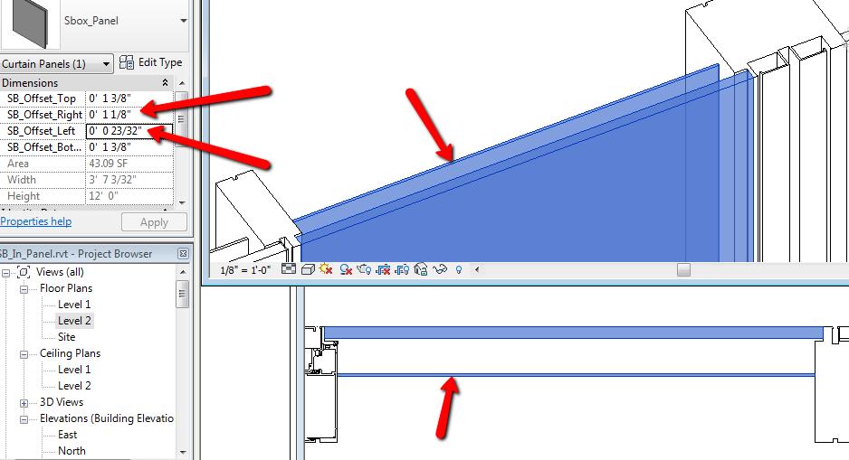 Parametric Shadowbox Panels Ceiling Plan Paneling Shadow Box