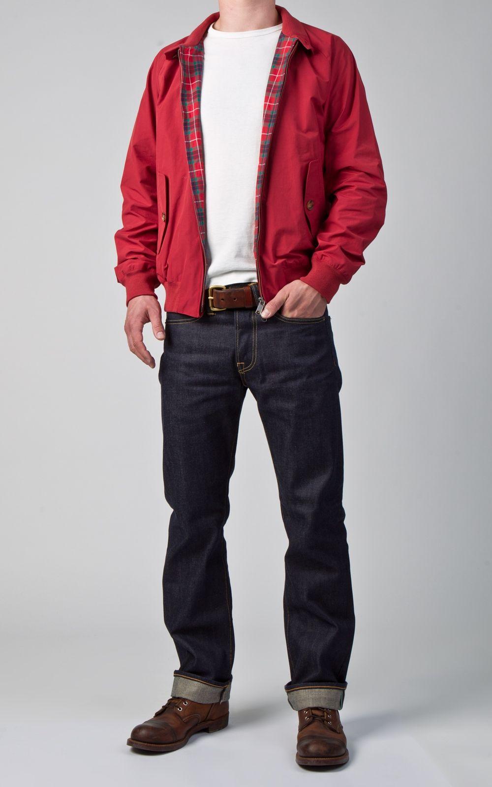 9468a711afa Baracuta G9 Original Harrington Jacket Dark Red Harrington Jacket