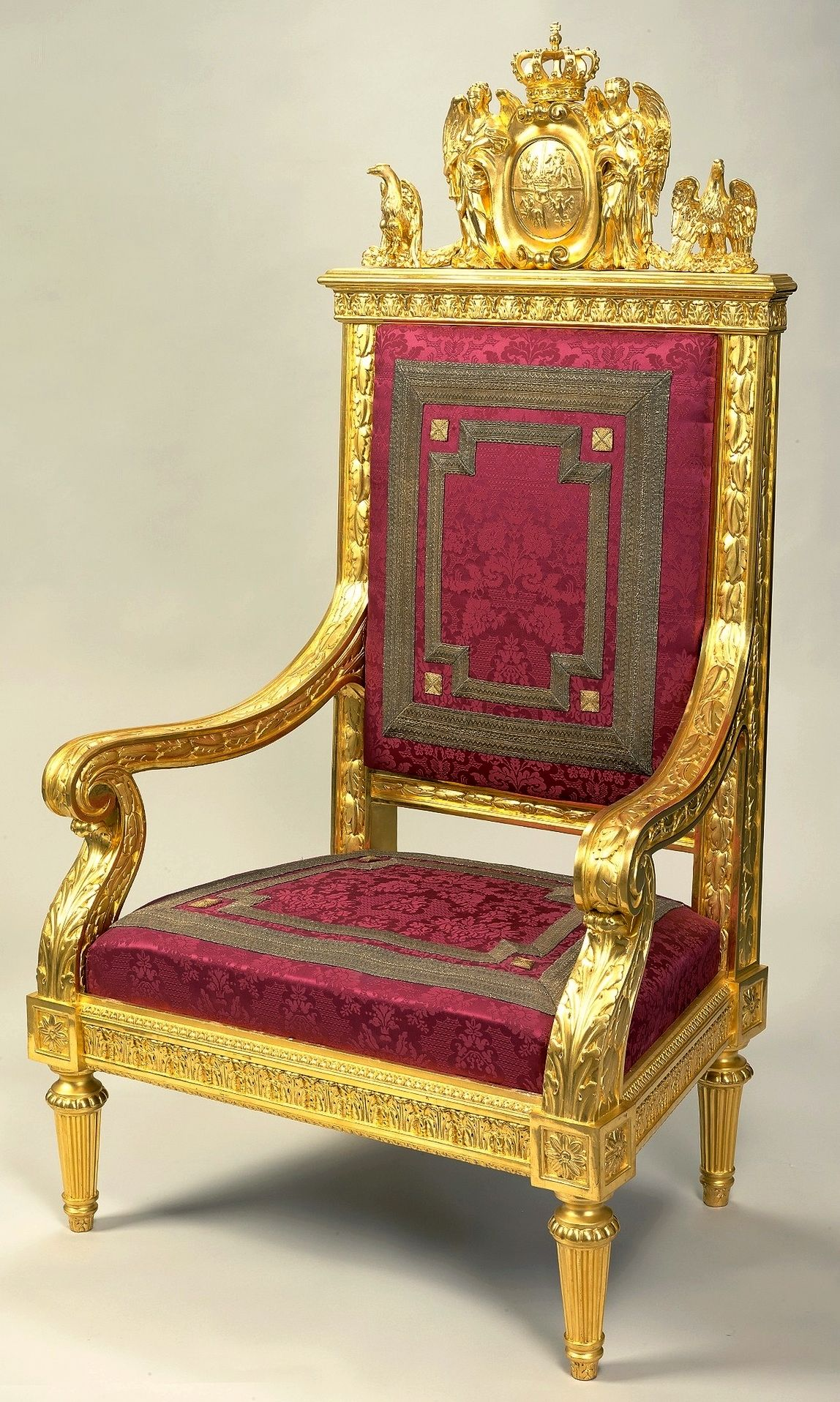 Throne Chair Of Stanislaus Augustus By Jan Christian